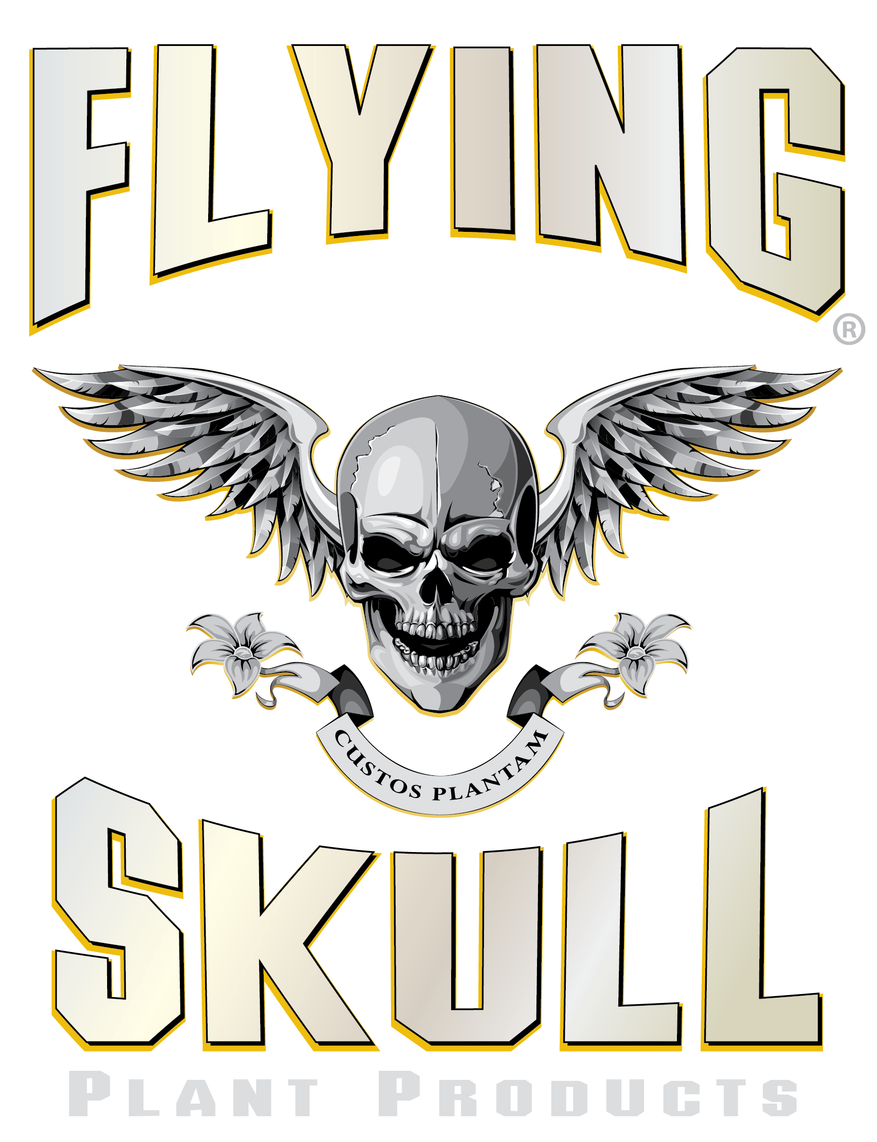 Flying Skull Plant Products Logo