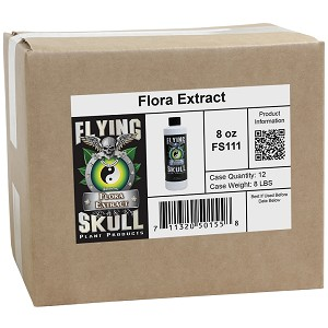 8 oz Flora Extract (Case of 12)