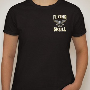 Flying Skull Tee Shirt