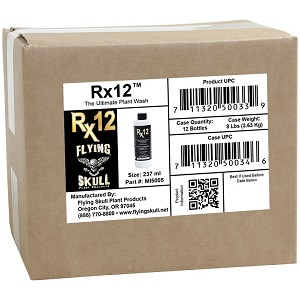 8 oz Rx12 Plant Wash (Case of 12)